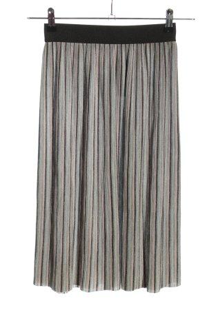 Reserved Gebreide rok gestreept patroon casual uitstraling