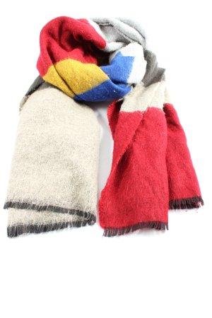 Reserved Sciarpa lavorata a maglia multicolore stile casual