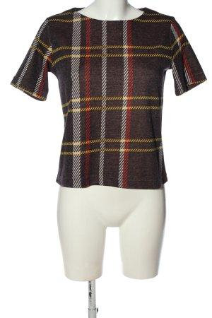 Reserved Strickshirt Allover-Druck Casual-Look
