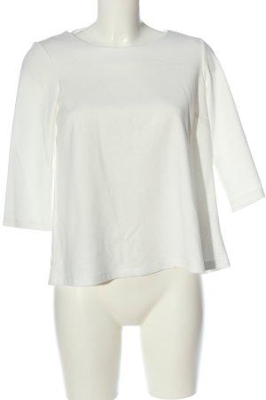 Reserved Strickshirt weiß Casual-Look