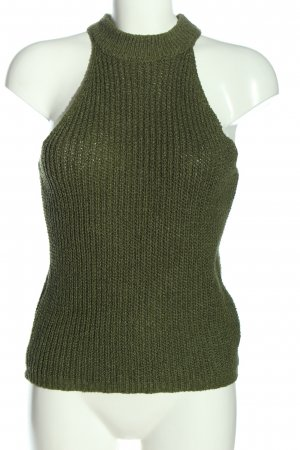 Reserved Stricktop khaki Casual-Look