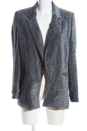 Reserved Sweatblazer silberfarben meliert Elegant
