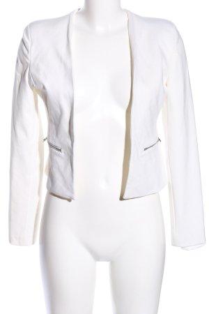 Reserved Sweatblazer weiß Casual-Look