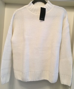 Reserved Sweater neu weiß Gr M Pullover Strickpullover