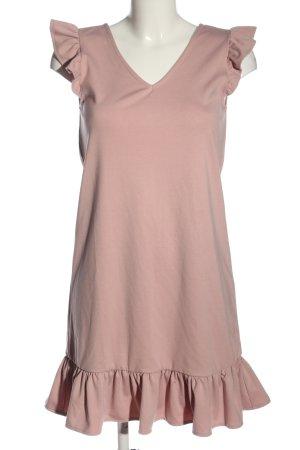 Reserved Sweatkleid pink Casual-Look