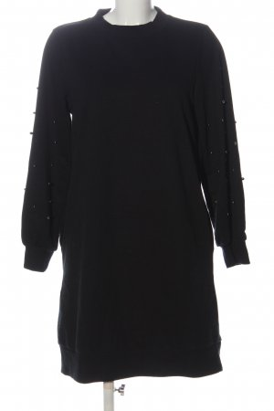 Reserved Sweat Dress black casual look