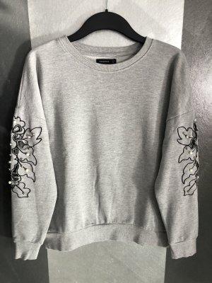 Reserved Crewneck Sweater light grey-black
