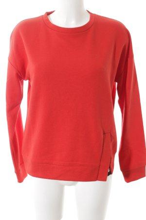Reserved Sweatshirt rot Casual-Look