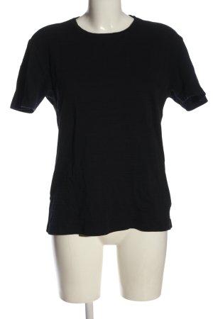 Reserved T-Shirt schwarz Elegant