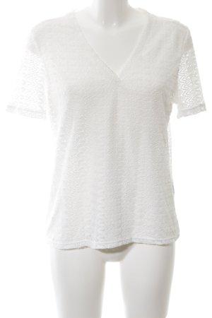 Reserved T-Shirt weiß Elegant