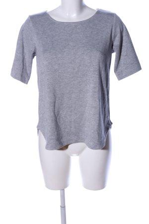 Reserved T-Shirt hellgrau meliert Casual-Look