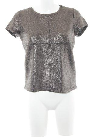 Reserved T-Shirt graubraun-schwarz klassischer Stil