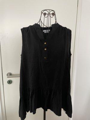 Reserved A-lijn top zwart