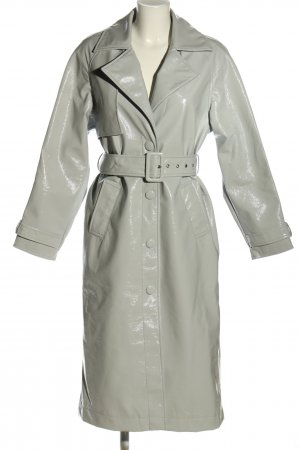 Reserved Trenchcoat gris clair style décontracté