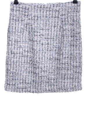Reserved Jupe en tweed gris clair moucheté style décontracté