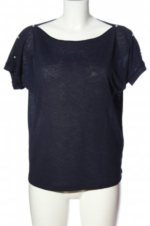 Reserved Boatneck Shirt blue casual look
