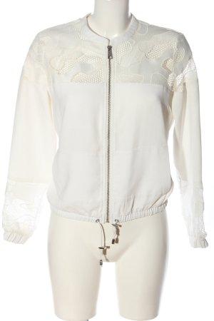 Reserved Übergangsjacke weiß Casual-Look