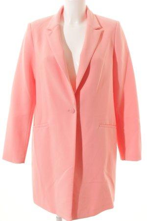 Reserved Übergangsmantel rosa schlichter Stil