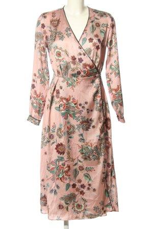Reserved Kopertowa sukienka nude-turkusowy Na całej powierzchni