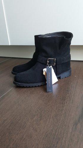 Reserved boots/Stiefeletten 37 schwarz/silber Biker