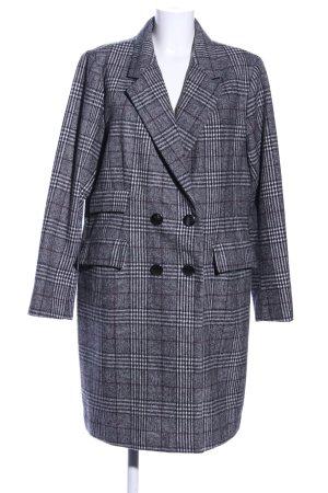 Reserved Cappotto in lana motivo a quadri stile casual