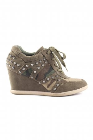 Reserviert Graceland Absatz Sneaker Camouflagemuster Casual-Look