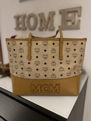 MCM Carry Bag oatmeal-light brown