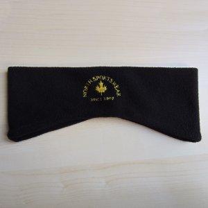 Sombrero de tela negro-amarillo