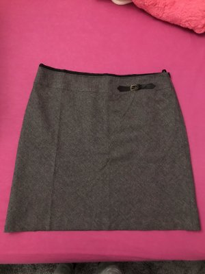 Selection by s.oliver Wool Skirt anthracite-light grey