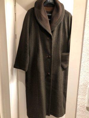 Resi Hammerer Cappotto in lana grigio-verde