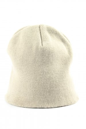 Result Flat Cap cream casual look