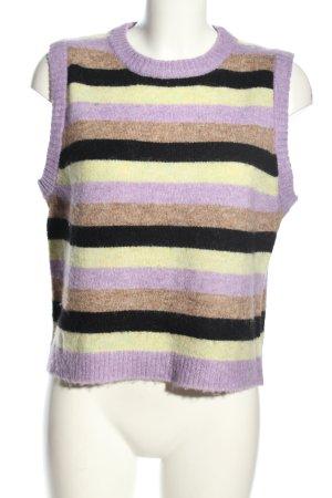RÉSUMÉ Sweter bez rękawów z cienkiej dzianiny Na całej powierzchni