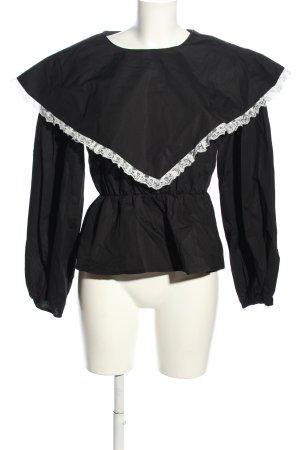RÉSUMÉ Langarm-Bluse schwarz Elegant