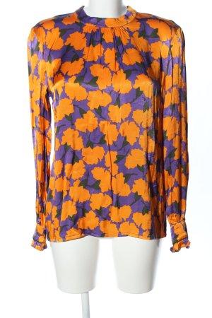 RÉSUMÉ Blusa de cuello alto lila-naranja claro look casual