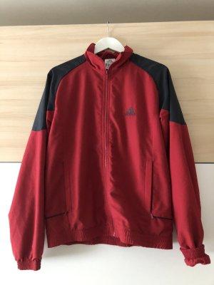 Adidas Veste oversize noir-rouge foncé