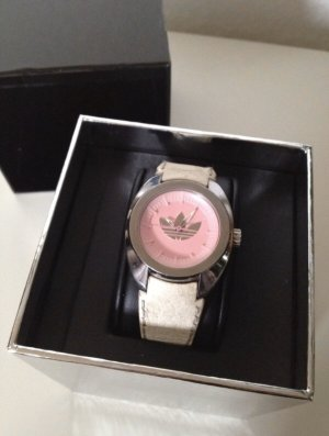 Adidas Watch With Leather Strap multicolored