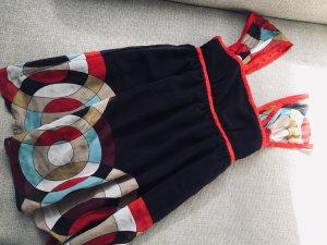 Forever 21 Vestido babydoll multicolor
