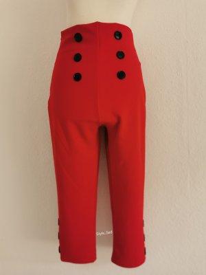 Pantalon capri rouge