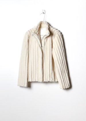 Retro Damen Fake Fur Mantel in S