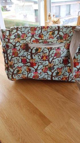 Retro Eulen Umhänge Handtasche