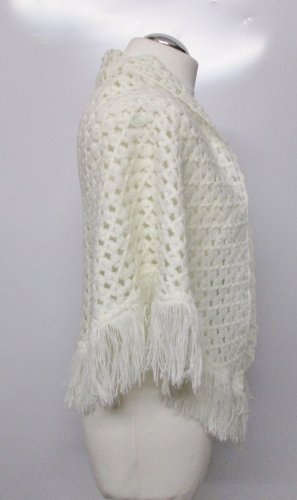 Shoulder Scarf natural white-oatmeal