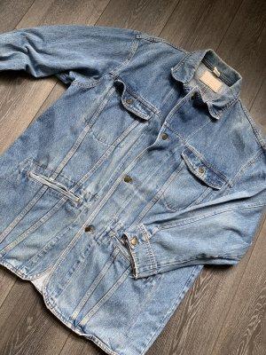 Retro jeansjacke Jeansmantel