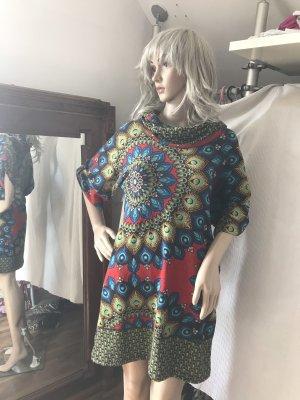 Vestido Hippie multicolor