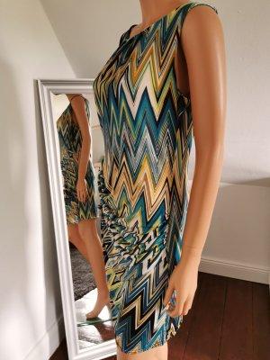 Retro Kleid mit Raffung im Zick Zack Design von Anoushka (Gr. S/M)