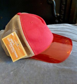 Baseball Cap light brown-red