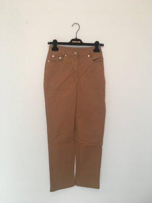 Five-Pocket Trousers cognac-coloured-sand brown
