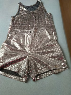 Skorts silver-colored