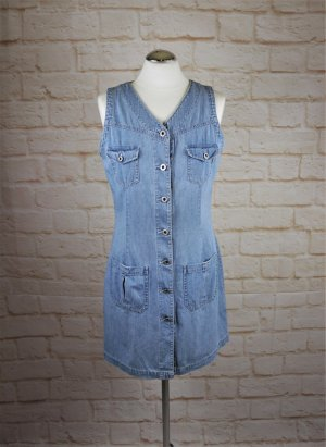 Retro Sexy Jeanskleid Minikleid Esprit Jeans Größe S 36 Hellblau Sommerkleid