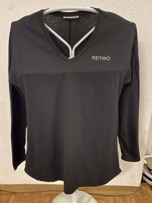American Retro Long Shirt black