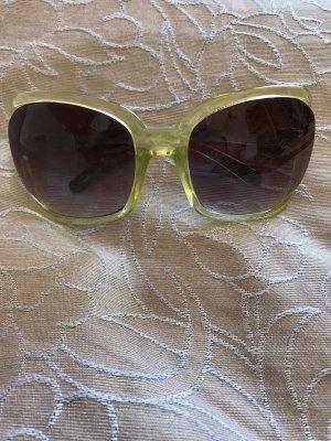 Retro Glasses purple-lime-green